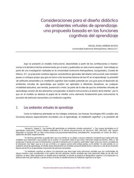 Consideraciones para el diseño didáctico de ambientes virtuales de aprendizaje | Educacion, ecologia y TIC | Scoop.it