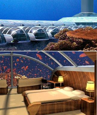 Les hôtels les plus étonnants du monde - Hôtel sous l'eau aux îles Fidji | Hospitality Sur et Sous l'eau | Scoop.it