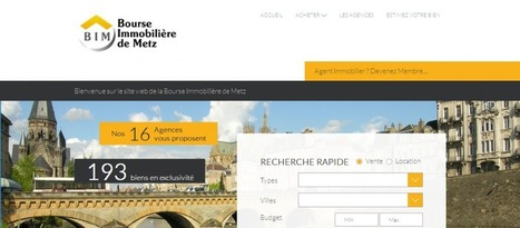 Création portail immobilier | Webmarketing Immobilier Imminence | Scoop.it