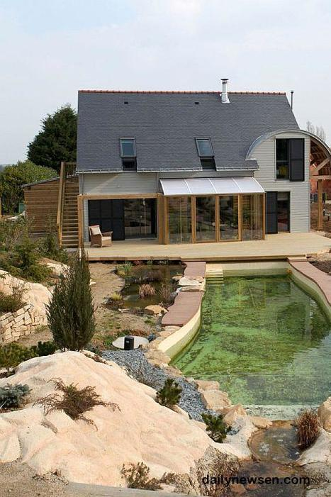 Green house in Brittany  dailynewsen.com | architecture..., Maisons bois & bioclimatiques | Scoop.it