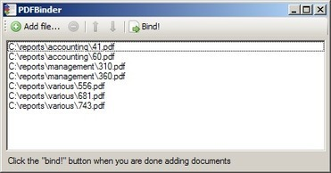 PDFBinder - simple tool to merge PDF documents into one | Educational Technology Today | Scoop.it