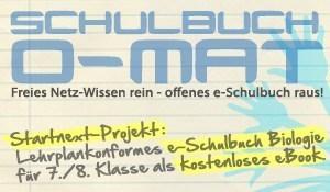 SCHULBUCH-O-MAT: Unser erstes freies e-Schulbuch für alle! - startnext.de | virtual multicultural interaction | Scoop.it