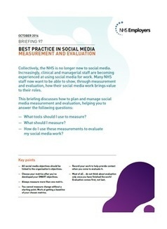 HR and social media in the NHS - NHS Employers | Social Media in NHS | Scoop.it