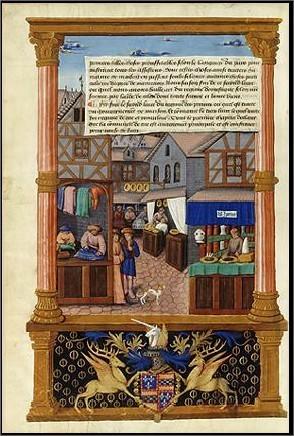 les boutiques : la ville du Moyen Age | le Moyen Age | Scoop.it
