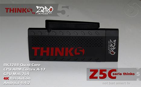 ZERO Devices Z5C Thinko - Por delante de la tecnología actual con este Android PC Stick - eleZine - Magazine About Electronics | Android TV Boxes | Scoop.it