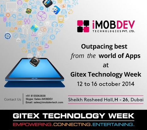 Meet world class mobile App Developers at GITEX Technology Week 2014. | Hire Open Source Web Developer | Scoop.it