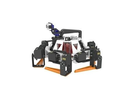 OZER Hexapod V-0.1 Open-Hardware, modular 3D printed robot using Raspberry Pi by SebastianGNU | Raspberry Pi | Scoop.it