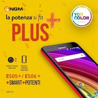 Prezzo NGM You Color E505 PLUS e E506 PLUS | NGM - Solutions | Scoop.it