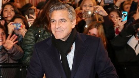George Clooney to Appear in 'Downton Abbey' Charity Film - Hollywood Reporter | The Stevie D. Show | Scoop.it