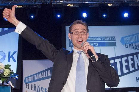 Katainen named Finland's new prime minister - Europe - Al Jazeera English | Finland | Scoop.it