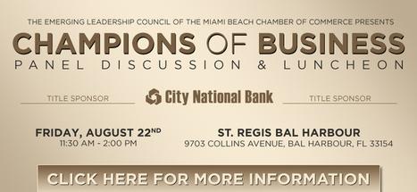Miami Beach Chamber of Commerce | Meroy9xy | Scoop.it