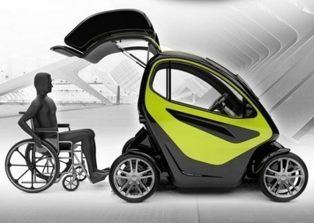 EQUAL: A Compact Electric Vehicle Specially Designed for People with Disabilities | Architecture Accessibilité+ Autonomie | Scoop.it