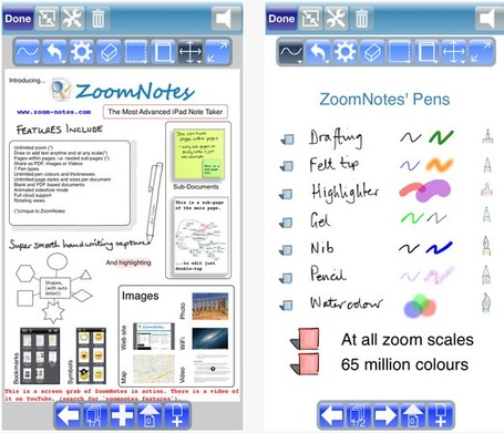 ZoomNotes - Take and Present Notes | ICT Nieuws | Scoop.it