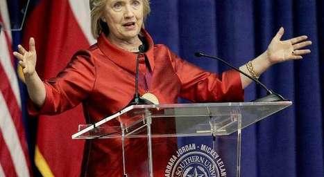"""H.#Clinton: """"je serai une meilleure présidente qu'Obama pour #israel""""   Infos en français   Scoop.it"""