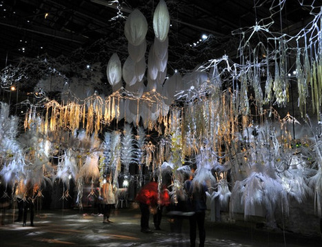 CultureLab: Artificially alive artwork tantalises and surprises | Social Foraging | Scoop.it