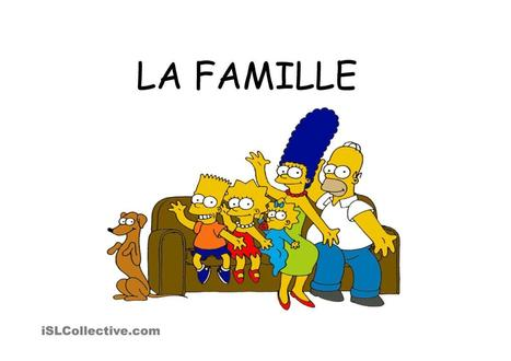 La famille avec les simpsons | Multilíngues | Scoop.it