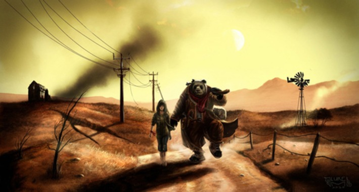The WASTELANDER PANDA Saga! Part 1. Development: Creating the Storyworld of Wastelander Panda | Machinimania | Scoop.it