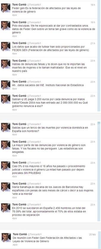Las consecuencias de los 8 comentarios de Toni Cantó que incendiaron Twitter | Seo, Social Media Marketing | Scoop.it