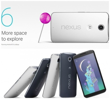 Hands On: Google Nexus 6 First Phone with Android Lollipop | Technology News | Scoop.it