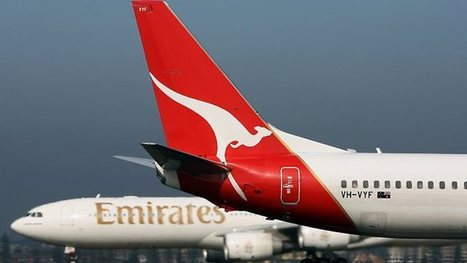 The Qantas-Emirates alliance: a flight path to future growth? | Qantas | Scoop.it