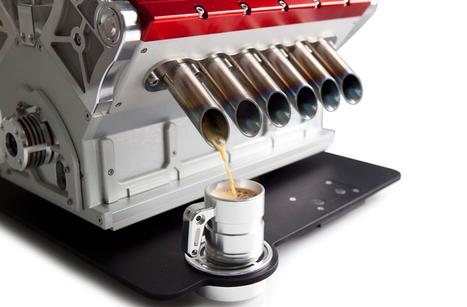 V12 espresso machine references formula one engines - designboom | architecture & design magazine | Killer Design | Scoop.it