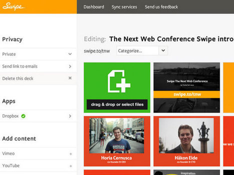 Swipe, le service web qui veut tuer PowerPoint | #ITyPA Bruno Tison | Scoop.it