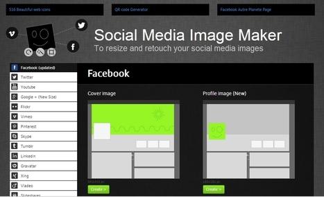 Rediseña el tamaño de tus imágenes en las redes sociales   Tecnologias de la Información   Scoop.it