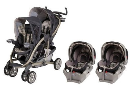 Graco Quattro Tour Duo Baby Stroller & SnugRide 35 Twin Travel System - Vance | Baby Stroller Reviews | Scoop.it