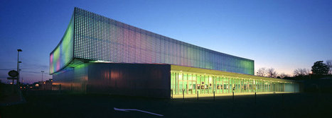 le prisme multi-purpose hall by brisac gonzalez architects - designboom | architecture & design magazine | Design&Architecture | Scoop.it