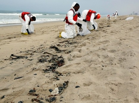 Oil Balls As Large As Footballs Wash Up On California's Shore, Closing Beaches | Sustain Our Earth | Scoop.it
