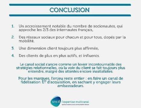 Les comportements des français sur les réseaux sociaux - Le Blog Com | Réferencement web | Scoop.it