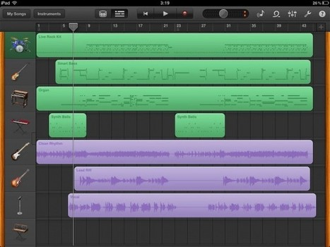 GarageBand for iPad Hands-on: Why It's Ideal for Beginners, What ... | iOSteacher | Scoop.it