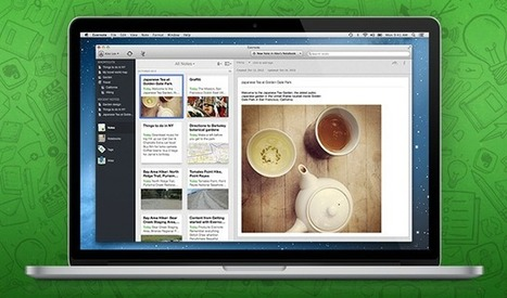 Evernote 5 for Mac is Here Packed with Over 100 New Features | Education Technology - theory & practice | Scoop.it