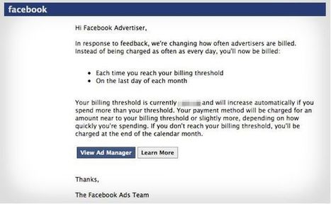 Facebook Is Testing Changes to Ad Billing | Digital-News on Scoop.it today | Scoop.it