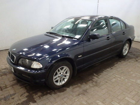 Salvage 2000 blue Bmw 316I Se with VIN WBAAL12080A on auction   cars   Scoop.it