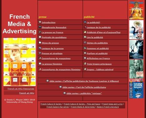 Médias français et publicité - Denis C. Meyer - Université de Hong Kong | TICE & FLE | Scoop.it