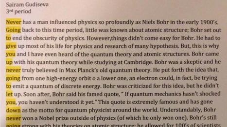 Student Rickrolls his teacher in this ingenious quantum physics essay | Fysikk | Scoop.it