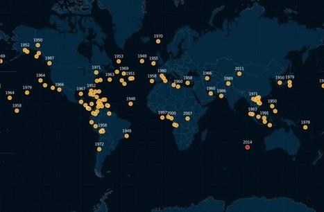 Mapa online con todos los aviones desaparecidos en la historia | I didn't know it was impossible.. and I did it :-) - No sabia que era imposible.. y lo hice :-) | Scoop.it
