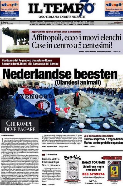 Italië walgt van Rotterdamse barbaren die Rome sloopten | La Gazzetta Di Lella - News From Italy - Italiaans Nieuws | Scoop.it