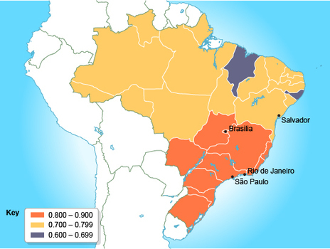 BBC - GCSE Bitesize: Case study: Uneven development within Brazil | Geography @ Stretford | Scoop.it