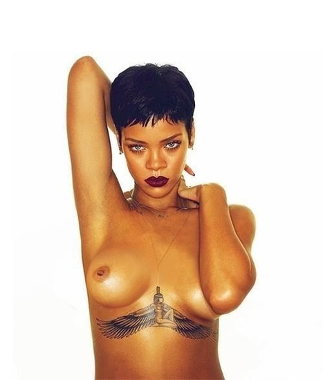 Rihanna seins nus sur son Album ' Unapologetic ' - photo | Radio Planète-Eléa | Scoop.it