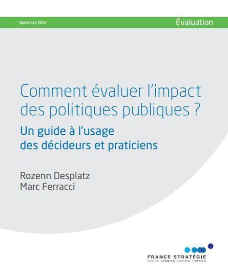 Comment évaluer l'impact des politiques publiques ? | Ressources politiques Guadeloupe | Scoop.it