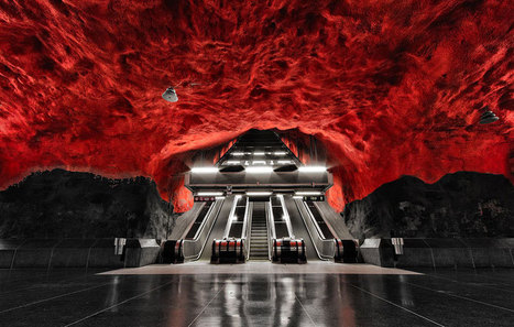 Amazing Underground Art In Stockholm's Metro Station | Everything Photographic | Scoop.it