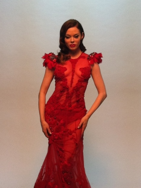 Lockerz.com : rose mcgowan's Photo | FAULTMagazine | Fashion & more... | Scoop.it