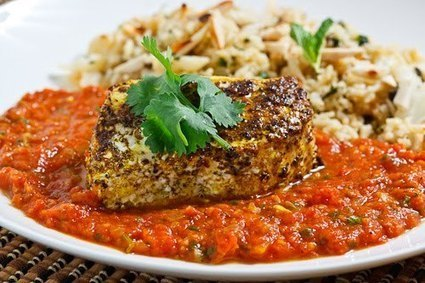 Garam Masala Roasted Halibut in a Tomato Curry Sauce | SEAFOOD RECIPES | Scoop.it