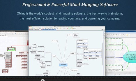 XMind: Professional & Powerful Mind Mapping Software | Computer4all-of-you | Scoop.it