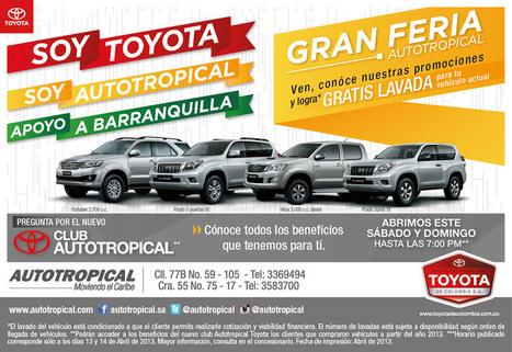 Autotropical Toyota Barranquilla | Toyota Barranquilla | Scoop.it