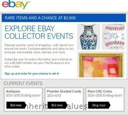 "EBay Says ""Win Big With Collectibles"" 