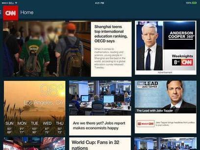 5 Best iPad News Apps for iOS 7: News at Your Finger Tips | Aprendiendo a Distancia | Scoop.it