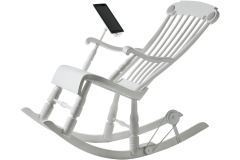 Finally, a Rocking Chair with an iPad Dock that Charges Your iPad While You Rock | TIME.com | Real Estate Plus+ Daily News | Scoop.it